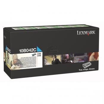 Lexmark Toner-Kartusche Prebate cyan HC (10B042C)