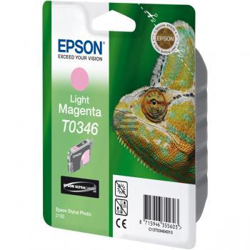 Epson Tintenpatrone magenta light (C13T03464010, T0346)