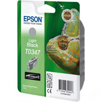Epson Tintenpatrone grau (C13T03474010, T0347)