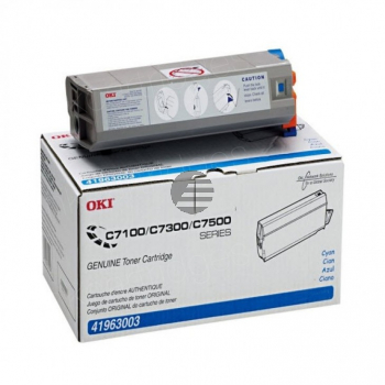 OKI Toner-Kit cyan (41963003, TYPE-C4)