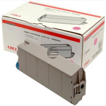 OKI Toner-Kit magenta (41963002, TYPE-C4)
