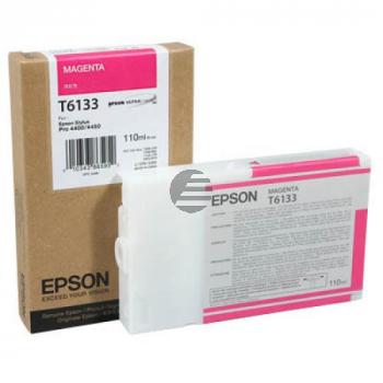 Epson Tintenpatrone magenta (C13T613300, T6133)