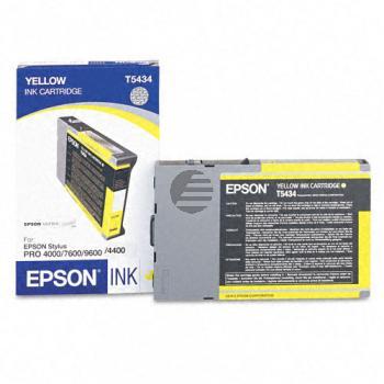 Epson Tintenpatrone gelb (C13T613400, T6134)