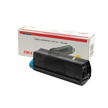 OKI Toner-Kit gelb HC (42127405, TYPE-C6)