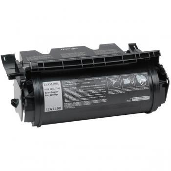 Lexmark Toner-Kartusche Prebate schwarz (12A7460)