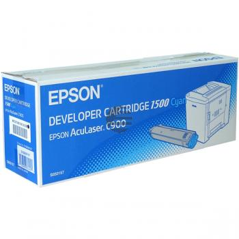 Epson Toner-Kartusche cyan (C13S050157)