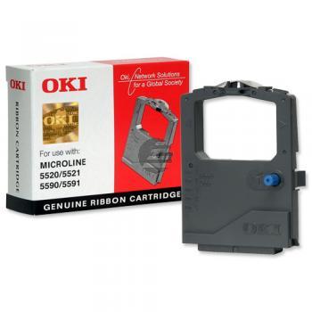 OKI Farbband Nylon schwarz (01126301)