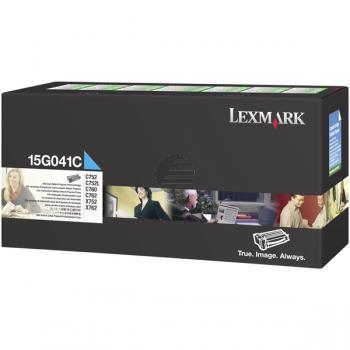 Lexmark Toner-Kartusche Prebate cyan (15G041C)