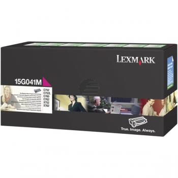 Lexmark Toner-Kartusche Prebate magenta (15G041M)