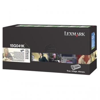 Lexmark Toner-Kartusche Prebate schwarz (15G041K)