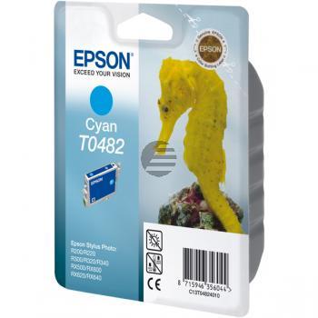 Epson Tintenpatrone cyan (C13T04824010, T0482)