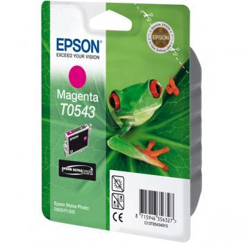 Epson Tintenpatrone magenta (C13T05434010, T0543)