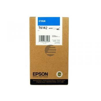 Epson Tintenpatrone cyan HC (C13T614200, T6142)