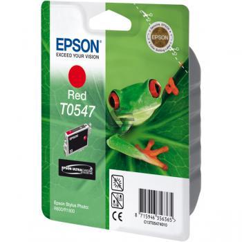 Epson Tintenpatrone rot (C13T05474010, T0547)