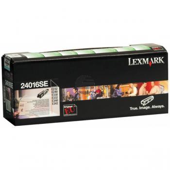 Lexmark Toner-Kartusche Prebate schwarz (24016SE)