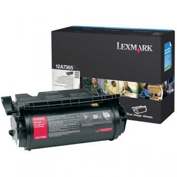 Lexmark Toner-Kartusche Prebate schwarz HC plus (12A7365)