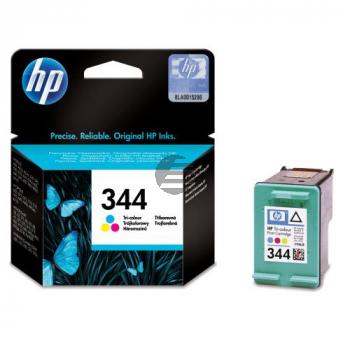 HP Tintendruckkopf cyan/gelb/magenta HC (C9363EE, 344)