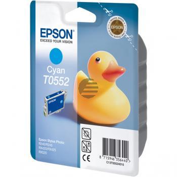 Epson Tintenpatrone Ente cyan (C13T05524010, T0552)