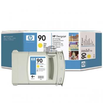 HP Tintenpatrone gelb (C5064A, 90)