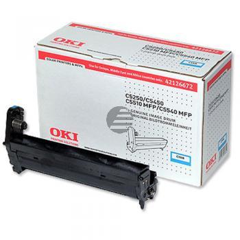 OKI Fotoleitertrommel cyan (42126672)