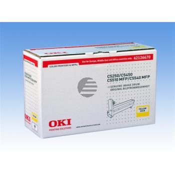 OKI Fotoleitertrommel gelb (42126670)