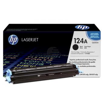 HP Toner-Kartusche schwarz (Q6000A, 124A)
