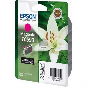 Epson Tintenpatrone magenta (C13T05934010, T0593)