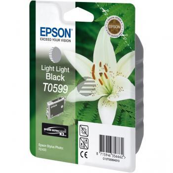 Epson Tintenpatrone schwarz light, light (C13T05994010, T0599)