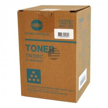 Minolta Toner-Kit cyan (4053-703-000, TN-310C)