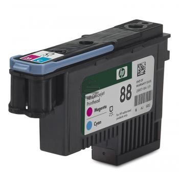 HP Tintendruckkopf cyan/magenta (C9382A, 88)