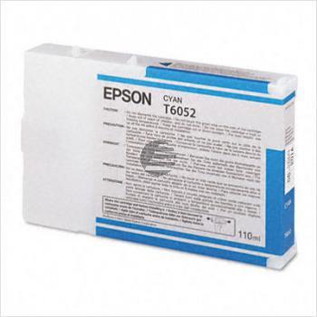 Epson Tintenpatrone cyan (C13T605200, T6052)