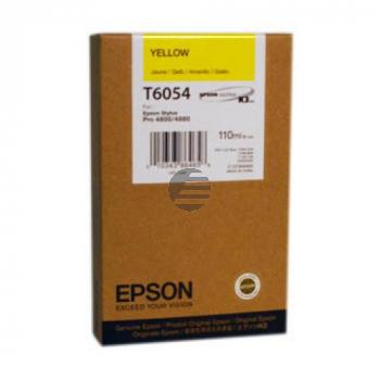 Epson Tintenpatrone gelb (C13T605400, T6054)