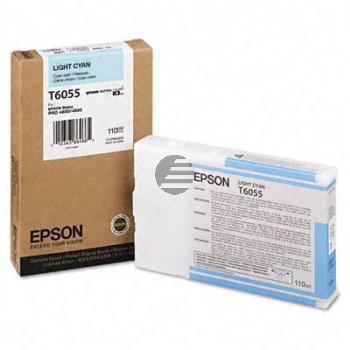 Epson Tintenpatrone cyan light (C13T605500, T6055)