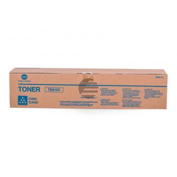 Konica Minolta Toner-Kit cyan (8938-512-000, TN-210C)
