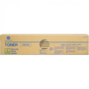Konica Minolta Toner-Kit gelb (8938-510-000, TN-210Y)