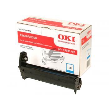 OKI Fotoleitertrommel cyan (43381707)