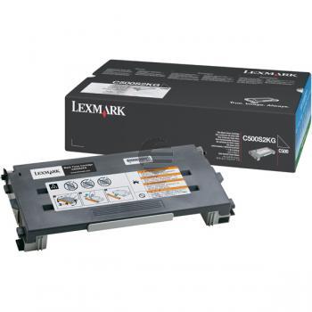 Lexmark Toner-Kartusche schwarz (C500S2KG)