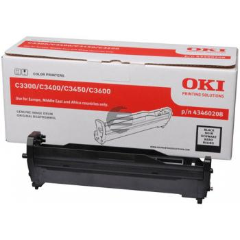 OKI Fotoleitertrommel schwarz (43460208)