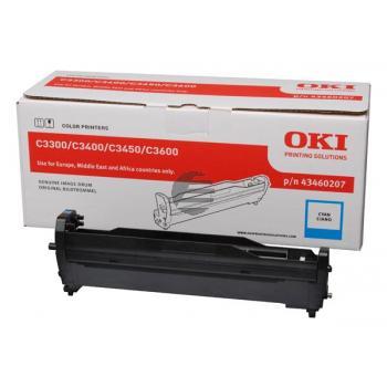 OKI Fotoleitertrommel cyan (43460207)