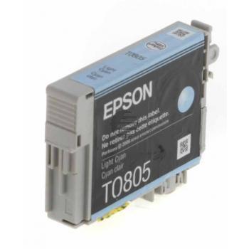 Epson Tintenpatrone cyan light (C13T08054010, T0805)