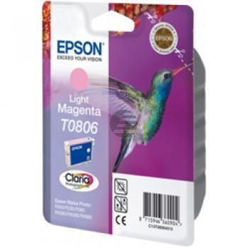 Epson Tintenpatrone magenta light (C13T08064010, T0806)