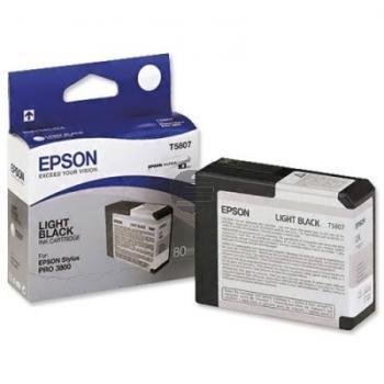 Epson Tintenpatrone schwarz light (C13T580700, T5807)