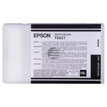 Epson Tintenpatrone photo schwarz (C13T602100, T6021)