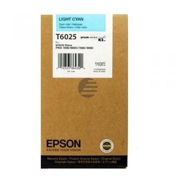 Epson Tintenpatrone cyan light (C13T602500, T6025)