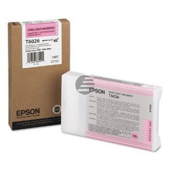 Epson Tintenpatrone magenta light (C13T602600, T6026)