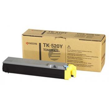 Kyocera Toner-Kit gelb (1T02HJAEU0, TK-520Y)