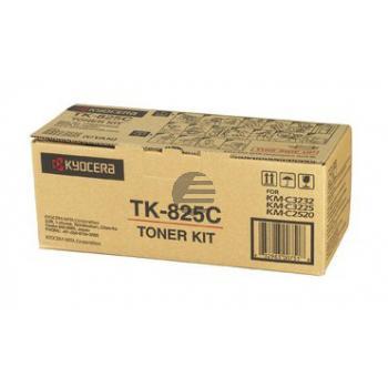 Mita Toner-Kit cyan (1T02FZCEU0, TK-825C)