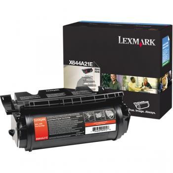 Lexmark Toner-Kartusche schwarz (X644A21E)