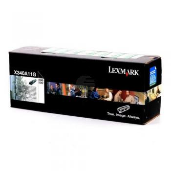 Lexmark Toner-Kartusche Prebate schwarz (X340A11G)