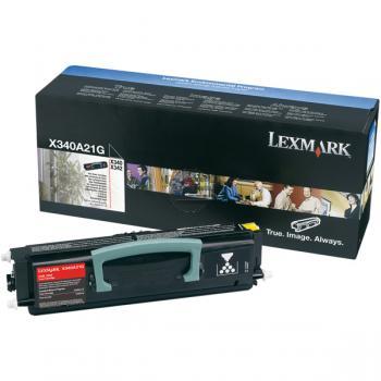 Lexmark Toner-Kartusche schwarz (X340A21G)